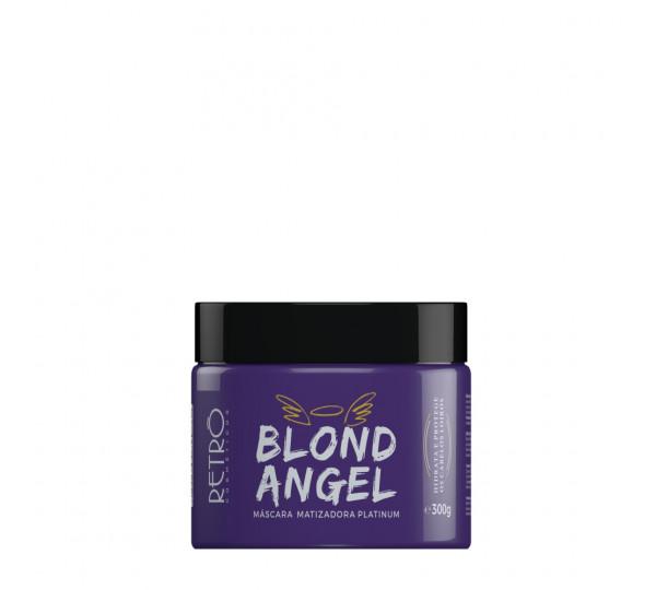 Máscara Matizadora Platinum Blond Angel Retrô Cosméticos 300g