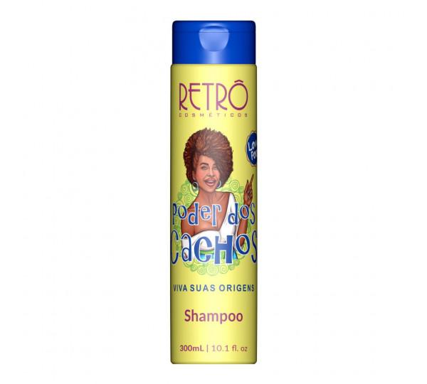 Shampoo Low Poo Poder dos Cachos Retrô Cosméticos 300ml