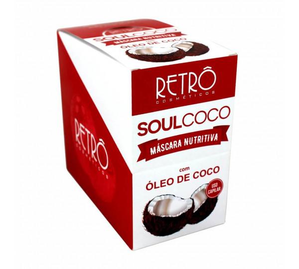 Máscara Nutritiva Soul Coco Retrô Cosméticos 30g
